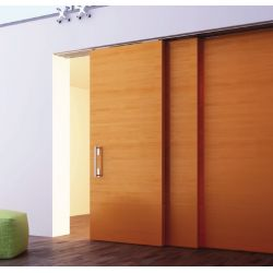 Súprava kovania pre postupné otváranie posuv. dverí