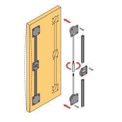 Výstuha posuvných dverí, 2248mm