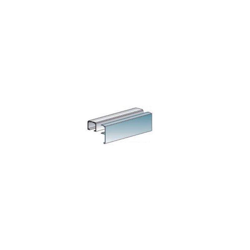 krycia lišta pre horné vedenie 6m, hliník