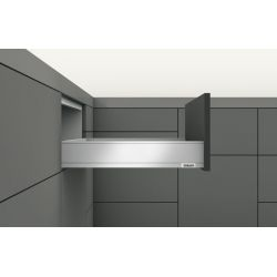 BLUM Legrabox M sivá 40kg, s TIP ON