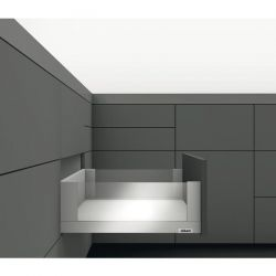 BLUM Legrabox FREE C sivá 40kg, s TIP ON