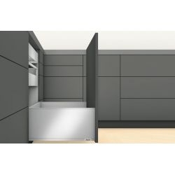 BLUM Legrabox F sivá 40kg, s TIP ON