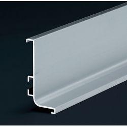 Dvierkový profil, 4,1m, hliník