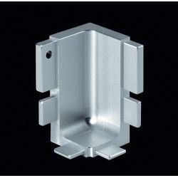 Vnútorný roh dvierkového profilu, hliník