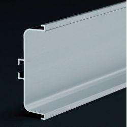 Zásuvkový profil, 4,1m, biela