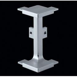Vonkajší roh dvierkového profilu, imitácia nerezu