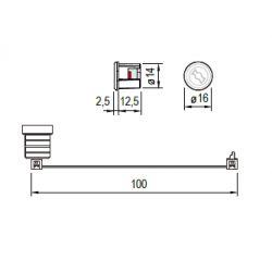 Optická kontrolná jednotka pre zámky M400