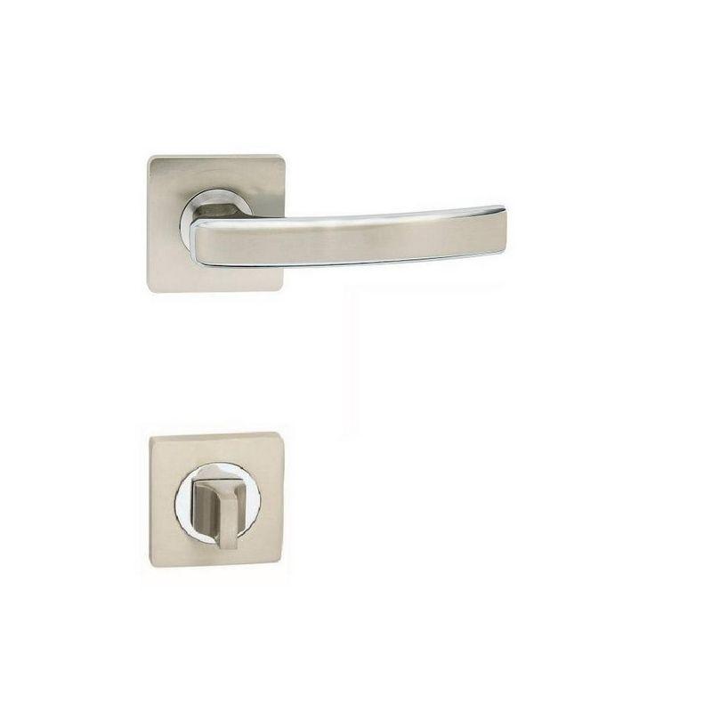 klučka GABRI S - kombinácia lesklý chróm/satin nikel