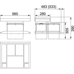 Sorter Trolley Vario 600