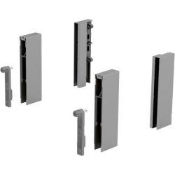 HETT- DesignSide adaptér, v124mm, strieborný, sklo