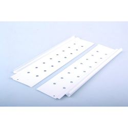 StrongBox - zvýšené bočnice, jednoduché, biele