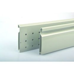 StrongBox - zvýšené bočnice, dvojité, sivé