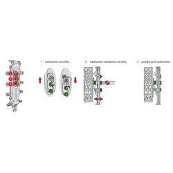 neviditeľné rektifikačné kovanie Libra H2