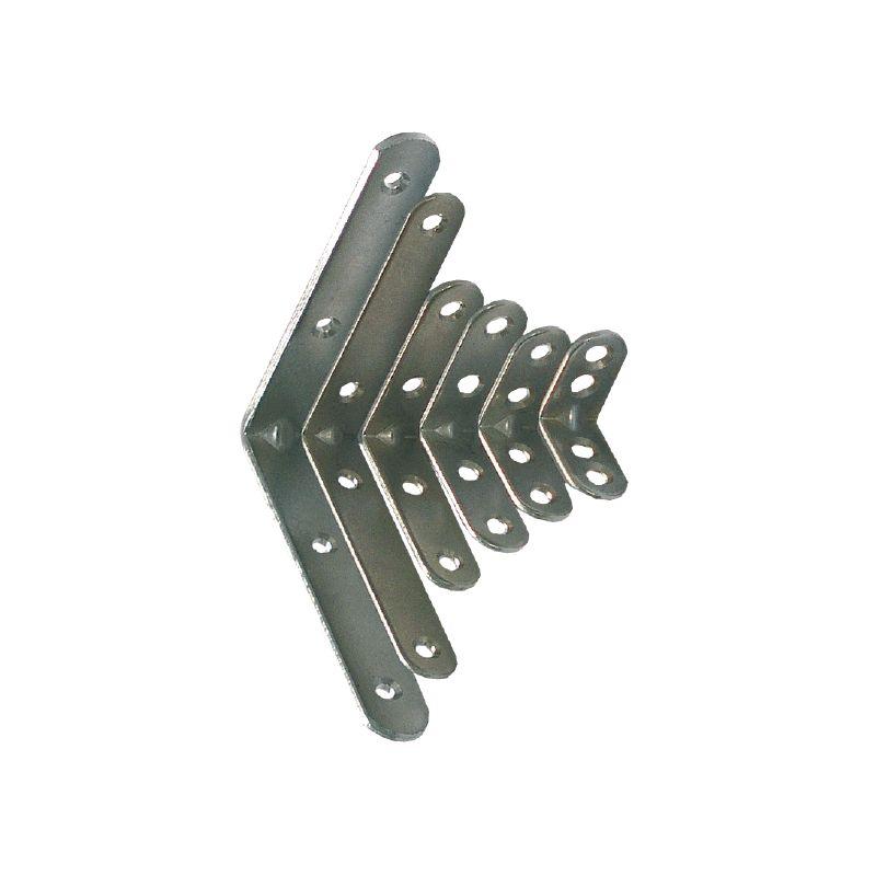 Uholník kovový s prelisom