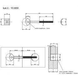 spojovacia tyč 114-35mm