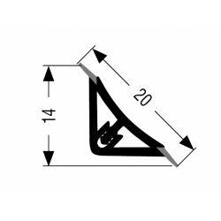 tesniaci profil L15/B