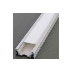 Profil pre LED pásiky, Surface, Strieborný elox