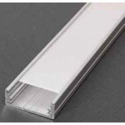 Profil pre LED pásiky, Wide, surový hliník