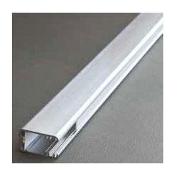 Profil pre LED pásiky, MIKRO LINE, Strieborný elox