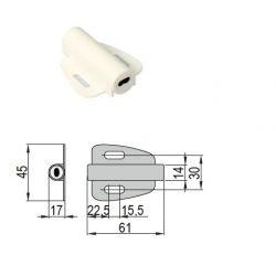 Dverový/bezdotykový vypínač