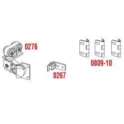 Skladacie skriňové dvere SISCO- naložené