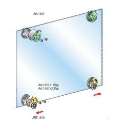 Pre sklenené dvere- vložené bez tlmenia, 30KG