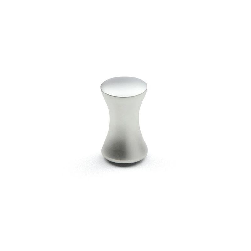 knopok Ruza XL, priemer 21mm, matný chróm